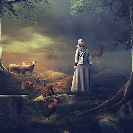Mimpi Ku by Edi Triono - Digital Art Places