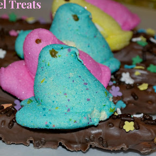 Peep Pretzel Treats