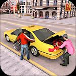 Drive Mountain City Taxi Car: Hill Taxi Car Games Icon
