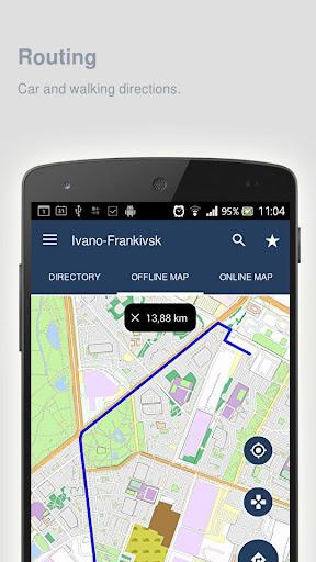 Ivano-Frankivsk Map offline - screenshot