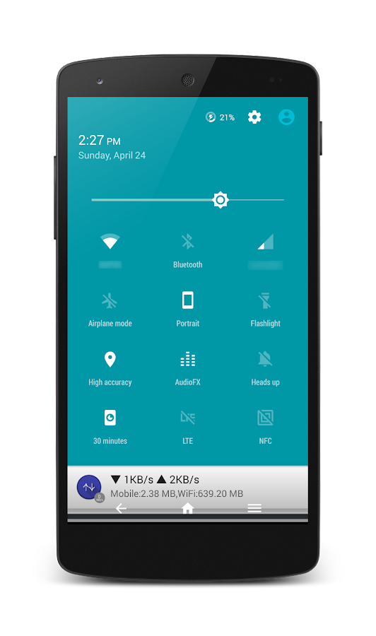 HoloCon - Android N Style CM13 Screenshot 3