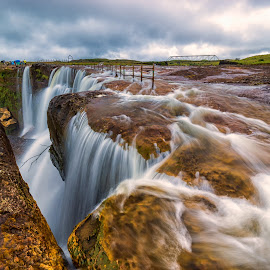 Danithlen Waterfall by Andy Pariat - Landscapes Waterscapes
