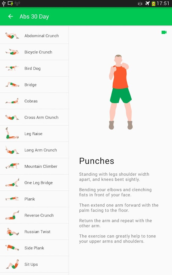 30 Day Fitness Challenge Workout At Home Screenshot