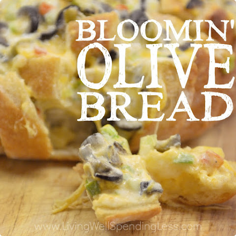 Bloomin' Olive Bread
