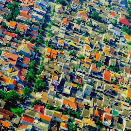 Houses by Fuad Arief - Abstract Patterns