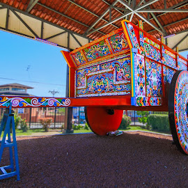 Sarchi Farm Cart by Norma Brandsberg - City,  Street & Park  City Parks