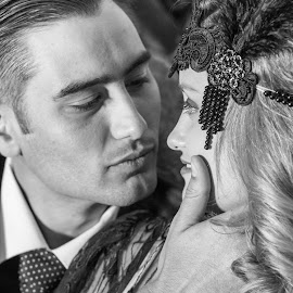 Absolutely love the emotion...a photo that tells a beautiful love story .... by Willie van der Merwe - Wedding Bride & Groom