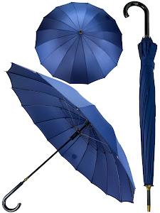 Зонт трость L, розовый
