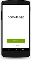 Screenshot of CometChat