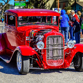 the red tide by Diane Davis - Transportation Automobiles