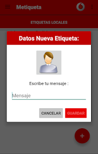 Metiqueta - screenshot