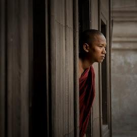 the 'Monk by Markus Gunawan - People Portraits of Men