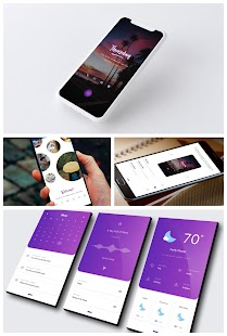 DynamicHome for KLWP Screenshot