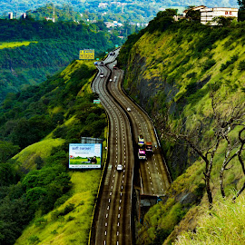 highway by Prathmesh Bhurke - Uncategorized All Uncategorized ( highway, road )