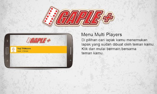 Gaple + ( Online Indonesia ) APK for Lenovo