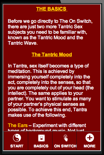 Tantric sexuality for beginners