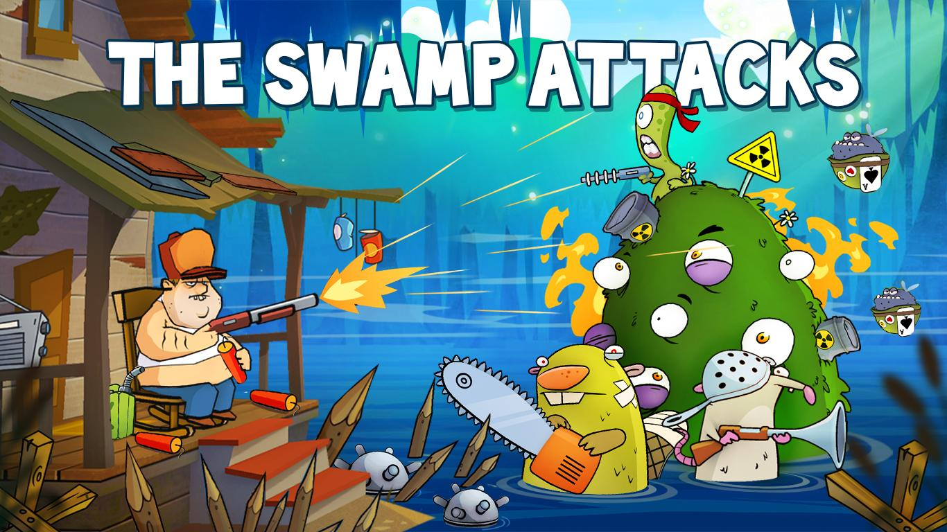 Swamp Attack Screenshot 6