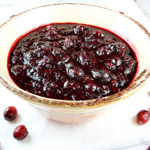 Sherry Triple Berry Cranberry Sauce