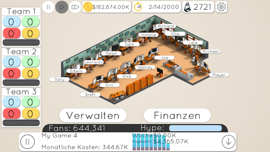Game Studio Tycoon 2 Screenshot