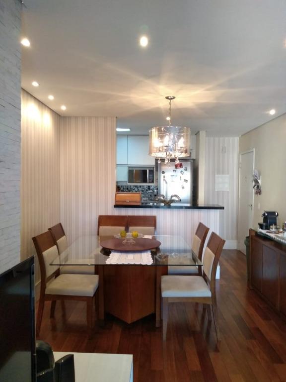 Apartamento impecável, Todo Planejado, 3 Dormitórios, Varanda Gourmet, 2 Vagas, Alphaview, Prox. Parque Municipal e Alphaville