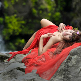 Red Angel by M Salim Bhayangkara - People Fashion