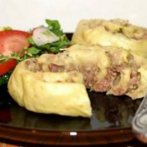 Meat roll (Ukrainian way)