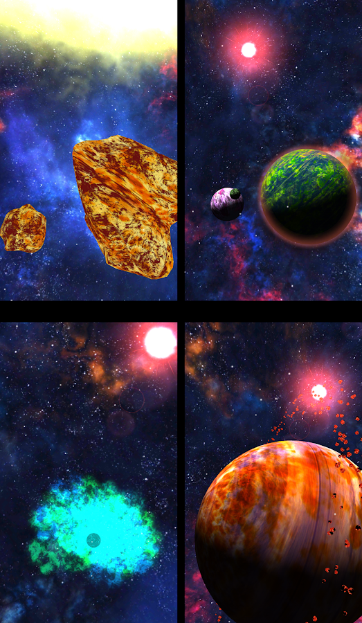 3D Space Planets LWP Screenshot 5
