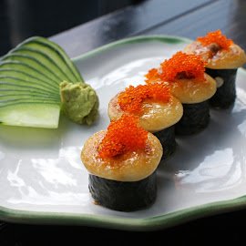 Sushi Takigawa by Mulawardi Sutanto - Food & Drink Plated Food ( sushi, sedap, travel, resto, kuliner, bandung )