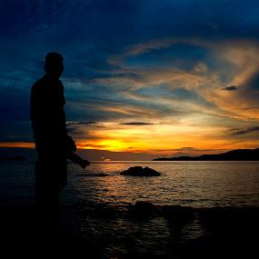 My Sunset by Nadzli Azlan - Landscapes Mountains & Hills