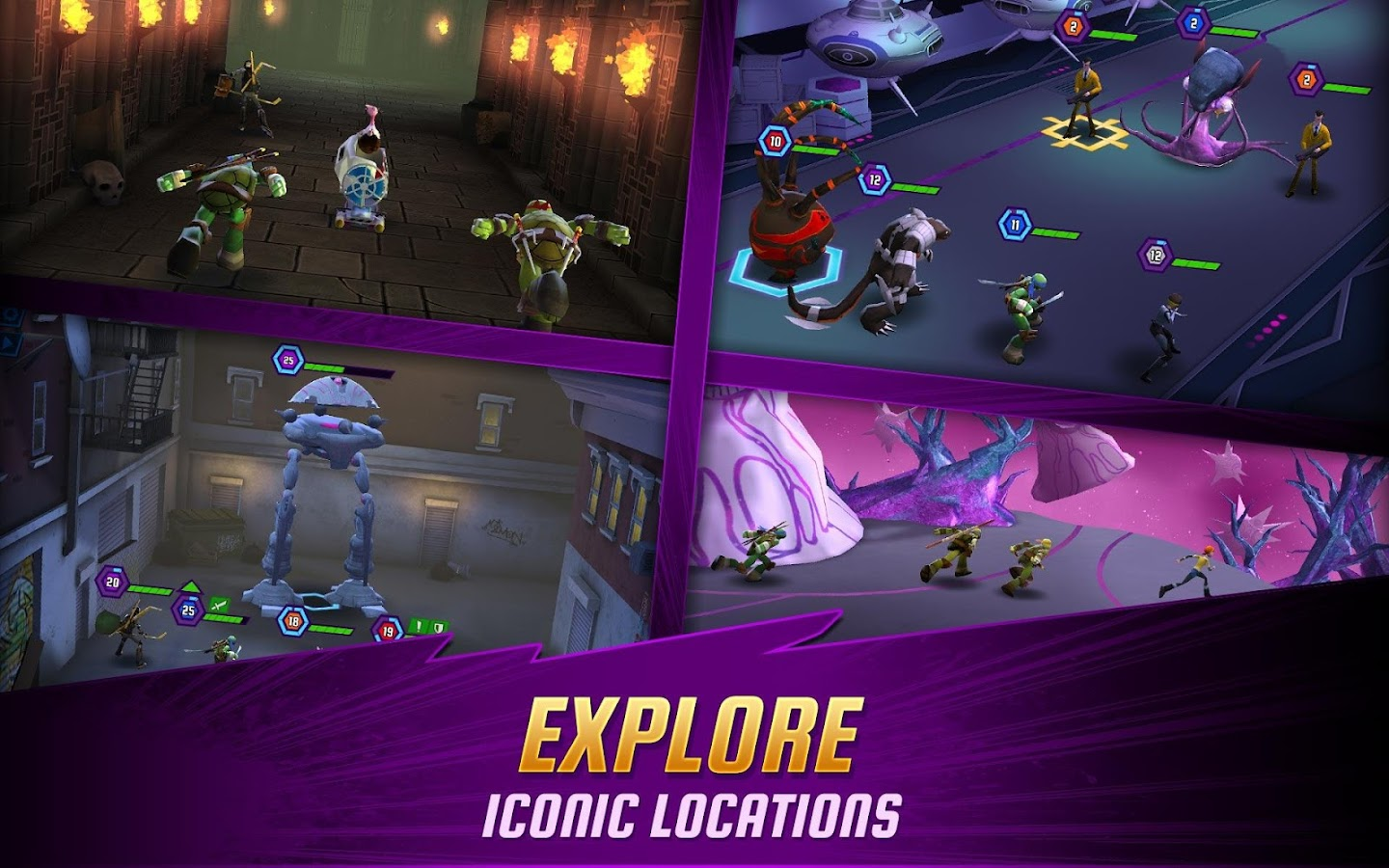 Ninja Turtles: Legends Screenshot 3
