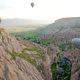 turkey by Haddouchi Tarik - Landscapes Mountains & Hills ( picture, sunrise, turkey, photo, cappadocia )