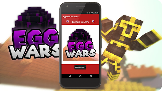Egg Wars online Server for MCPE