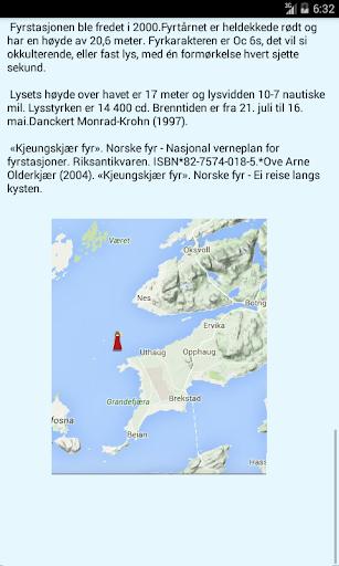 Norske fyr - screenshot