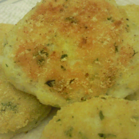 Mashed Potato Cakes and Sweet Potato Biscuits
