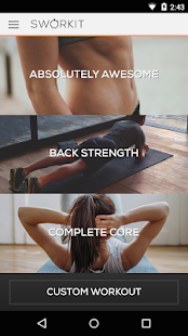 Ab & Core Sworkit- screenshot thumbnail
