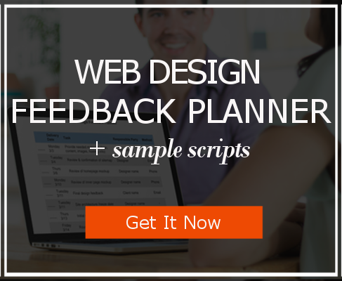 Download the Web Design Feedback Planner