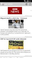 Screenshot of UK Press - Newspapers