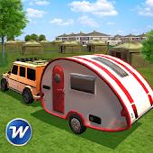Game Camper Van Trailer Truck Driving Simulator APK for Windows Phone