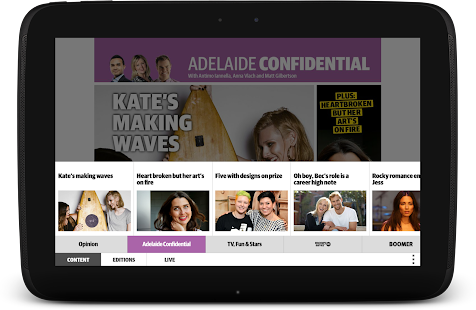 The advertiser sunday mail free android app market for Free home magazines by mail