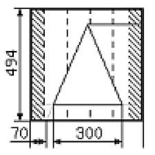 Calculation of the gable roof