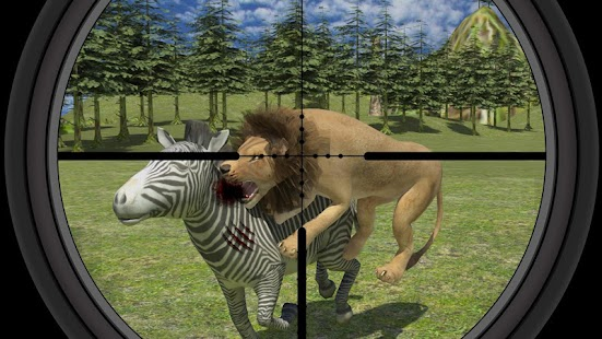Extreme wild lion hunting 3D apk screenshot