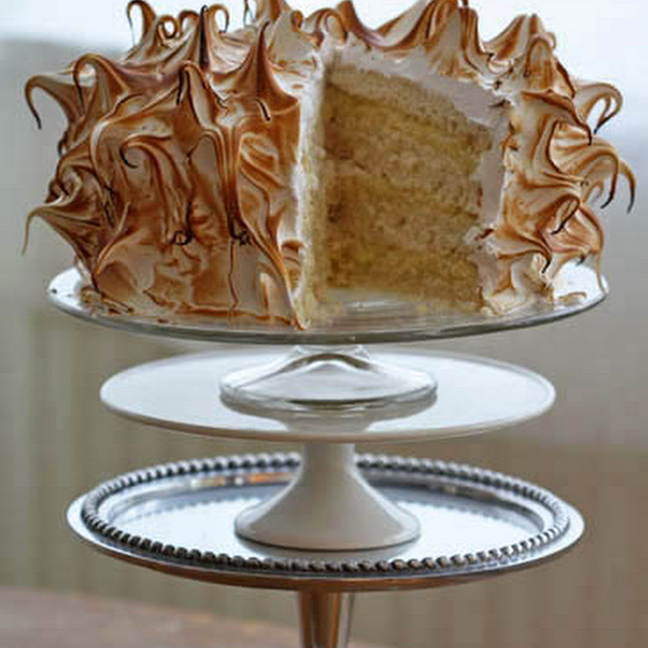 Outrageous Coconut-Cream Meringue Cake Recipes — Dishmaps