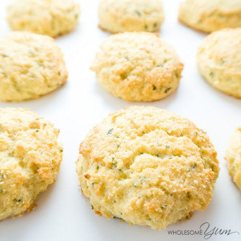 Garlic Parmesan Biscuits (Low Carb, Gluten-free)