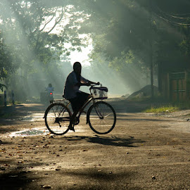 morning rol by Lintang Respati - Transportation Bicycles