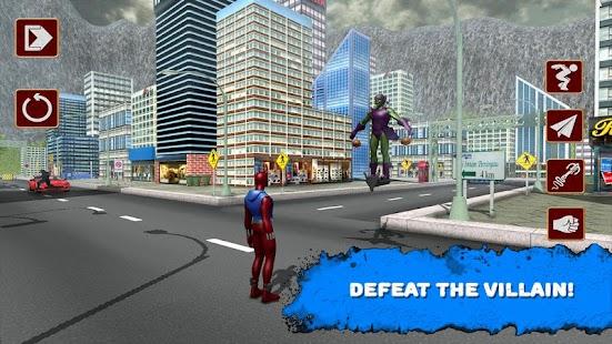 New Spider Hero Legend 3D apk screenshot