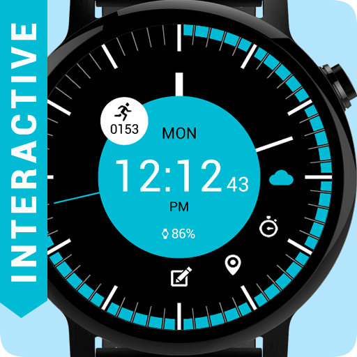 Cool Circle watch face