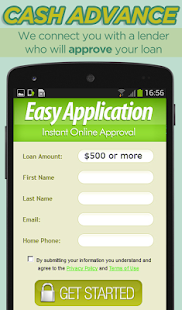 Cash Advance Money Loan App screenshot for Android