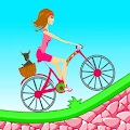 Biker Girl Hill Climb Cycling APK for Lenovo