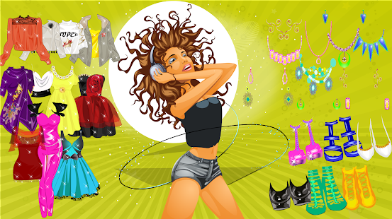 Game Super Star Girl Dress Up Game APK for Windows Phone | Android ...