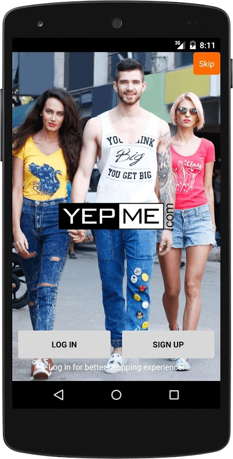 Yepme - Online Shopping App Screenshot 0